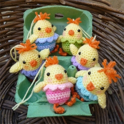Easter Chick Knitting Pattern Instructions : Sophies Knit Stuff: Free Easter Knitting and Crochet Patterns