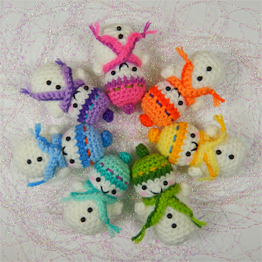 Amigurumi Square Tutorial : Moji-Moji Design Original Amigurumi Crochet Patterns ...