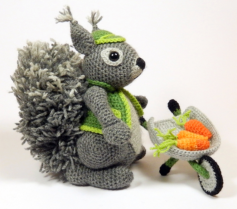 Amigurumi Animals At Work : Amigurumi Animals at Work Moji-Moji Design