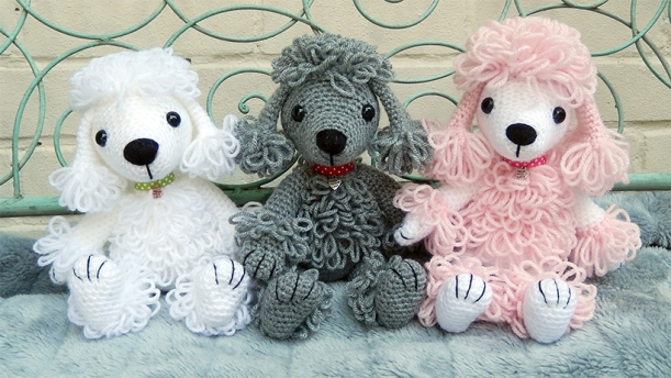 Free Amigurumi Poodle Pattern : Showpoodle