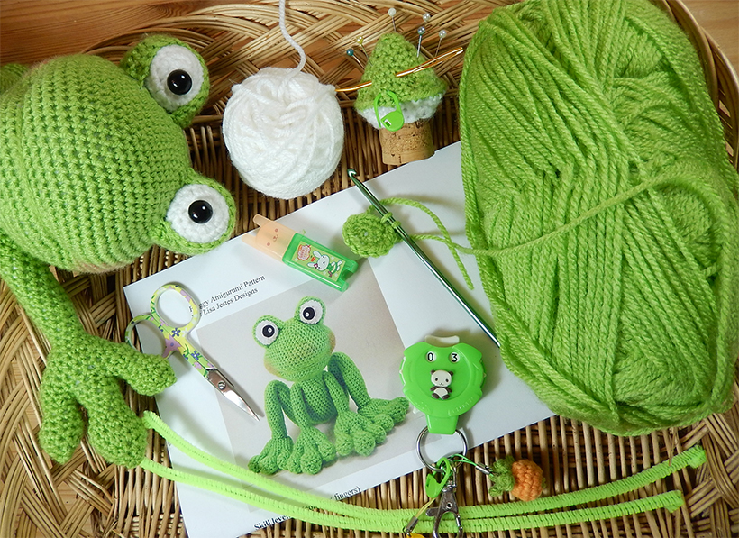 Frog-Pattern