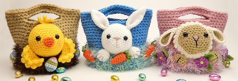Three Easter Treat Bags by Moji-Moji Design