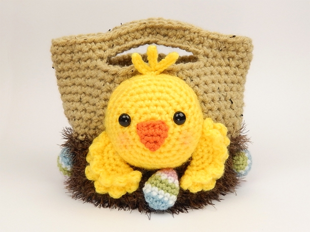 Chick Easter Treat Bag - by Moji-Moji Design