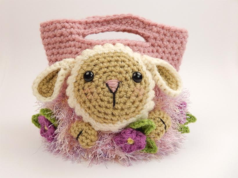 Lamb Easter Treat Bag - by Moji-Moji Design