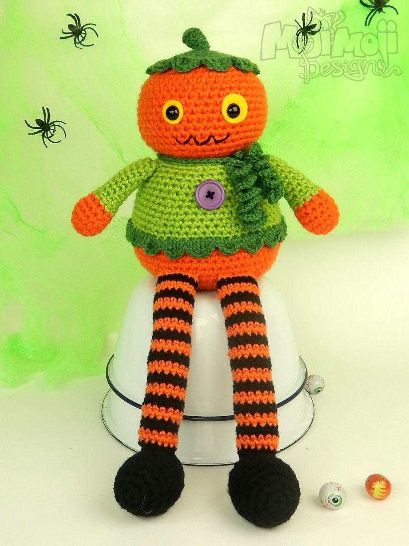 Halloween Pumpkin Amigurumi : Pumpkins, Monsters and Spooks Moji-Moji Design