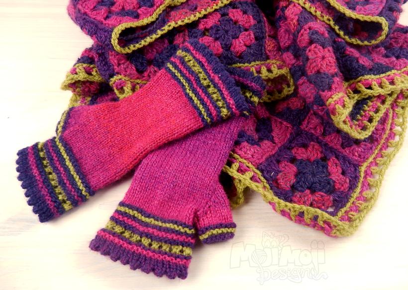 poncho-mitts