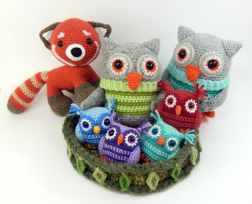 owls-and-red-panda
